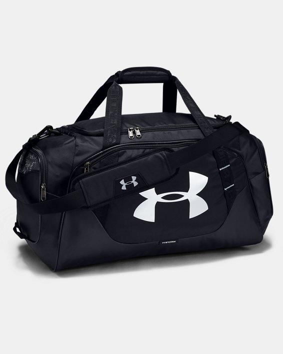 Men's UA Undeniable 3.0 Medium Duffle Bag, Black, pdpMainDesktop image number 2