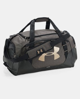 Best Seller Men's UA Undeniable 3.0 Medium Duffle Bag  3  Colors Available $44.99