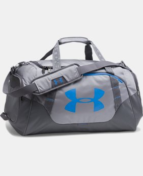 Best Seller  Men's UA Undeniable 3.0 Medium Duffle Bag  6 Colors $54.99