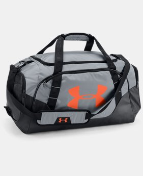 Best Seller Men's UA Undeniable 3.0 Medium Duffle Bag FREE U.S. SHIPPING 3  Colors Available $44.99
