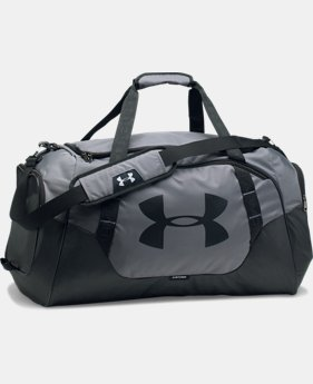 Best Seller Men's UA Undeniable 3.0 Medium Duffle Bag  2 Colors $44.99
