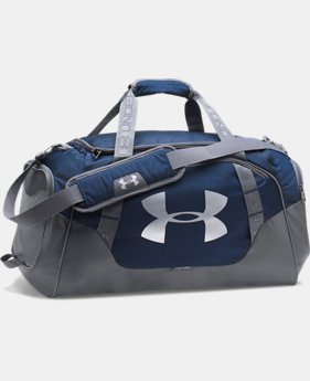 Best Seller Men's UA Undeniable 3.0 Medium Duffle Bag  5  Colors Available $44.99