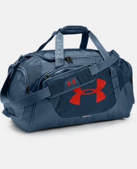 Best Seller Men's UA Undeniable 3.0 Medium Duffle Bag  2  Colors Available $44.99