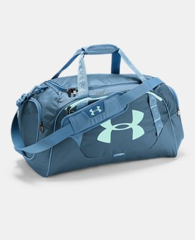 Best Seller Men's UA Undeniable 3.0 Medium Duffle Bag  4  Colors Available $44.99