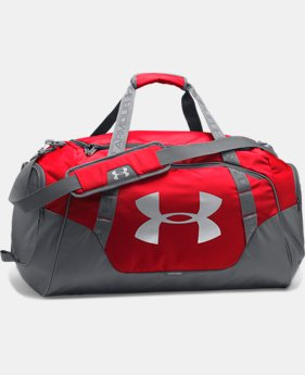 Best Seller  Men's UA Undeniable 3.0 Medium Duffle Bag  2 Colors $54.99
