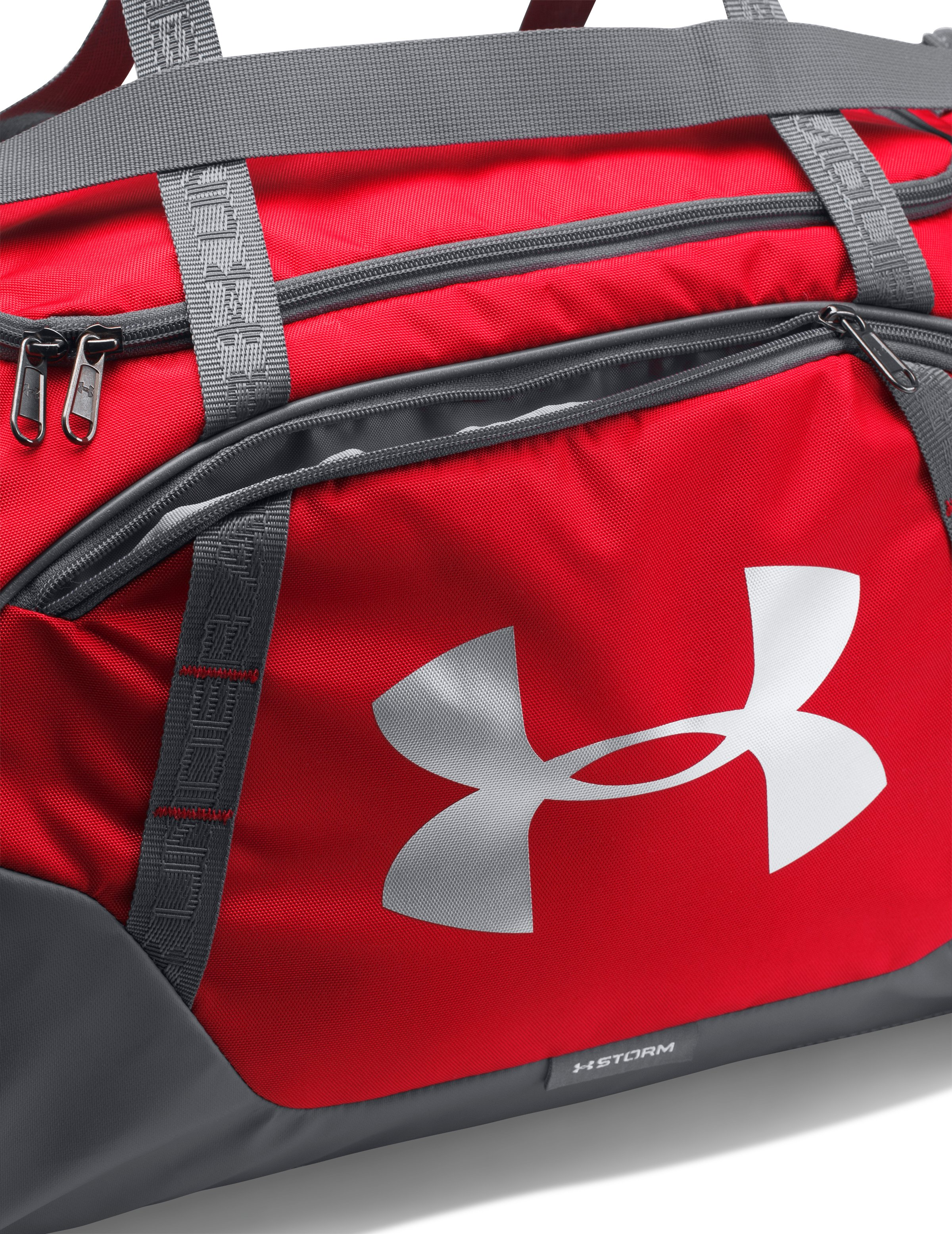 Men's UA Undeniable 3.0 Medium Duffle Bag, Red, undefined