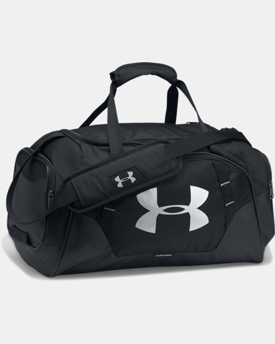 Men's UA Undeniable 3.0 Small Duffle Bag, Black, pdpMainDesktop image number 6