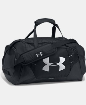 Best Seller Men's UA Undeniable 3.0 Small Duffle Bag  4 Colors $39.99