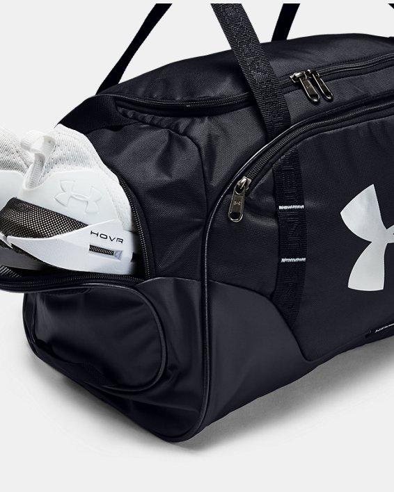 Men's UA Undeniable 3.0 Small Duffle Bag, Black, pdpMainDesktop image number 4