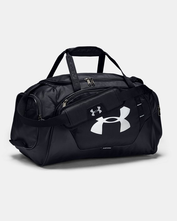 Men's UA Undeniable 3.0 Small Duffle Bag, Black, pdpMainDesktop image number 1