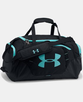 Best Seller  Men's UA Undeniable 3.0 Small Duffle Bag  2 Colors $44.99