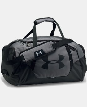 Best Seller  Men's UA Undeniable 3.0 Small Duffle Bag LIMITED TIME: FREE SHIPPING 7  Colors Available $44.99