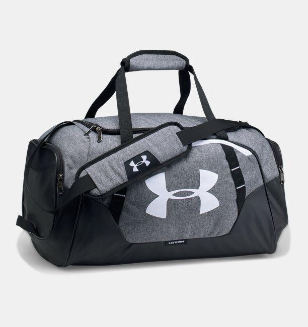 Mens UA Undeniable 30 Small Duffle Bag Graphite