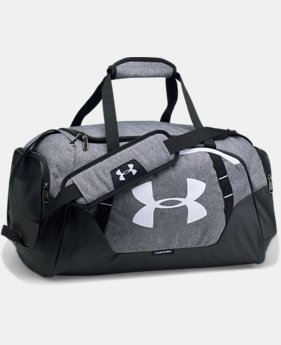 Best Seller Men's UA Undeniable 3.0 Small Duffle Bag  2  Colors Available $39.99