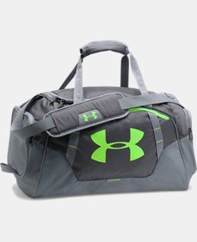 Best Seller Men's UA Undeniable 3.0 Small Duffle Bag  2 Colors $39.99