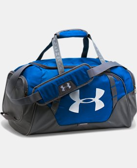 Best Seller  Men's UA Undeniable 3.0 Small Duffle Bag LIMITED TIME: FREE SHIPPING 3  Colors Available $44.99