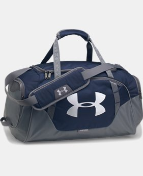 Best Seller Men's UA Undeniable 3.0 Small Duffle Bag  1  Color Available $39.99