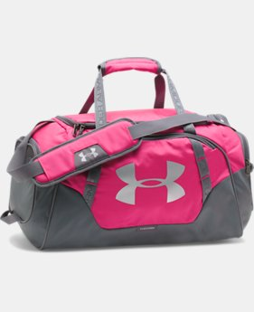 Best Seller  Men's UA Undeniable 3.0 Small Duffle Bag  3 Colors $44.99