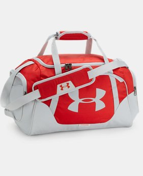 Best Seller Men's UA Undeniable 3.0 Small Duffle Bag  4  Colors Available $39.99