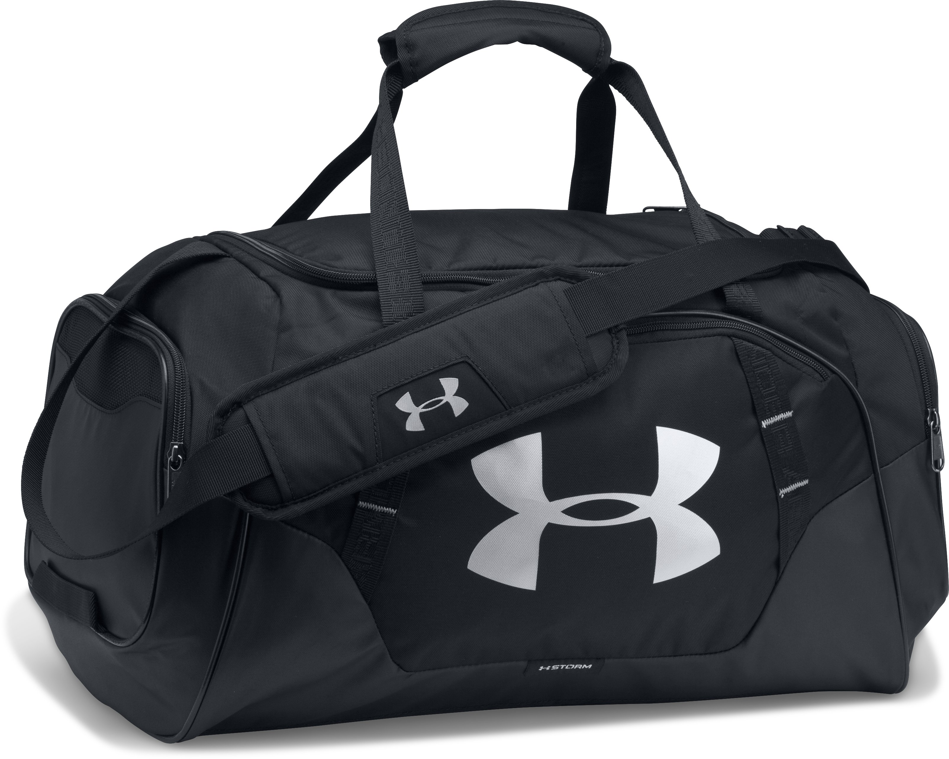 Men's UA Undeniable 3.0 Large Duffle Bag, Black , zoomed image