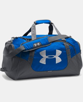 Best Seller  Men's UA Undeniable 3.0 Large Duffle Bag  1  Color Available $64.99