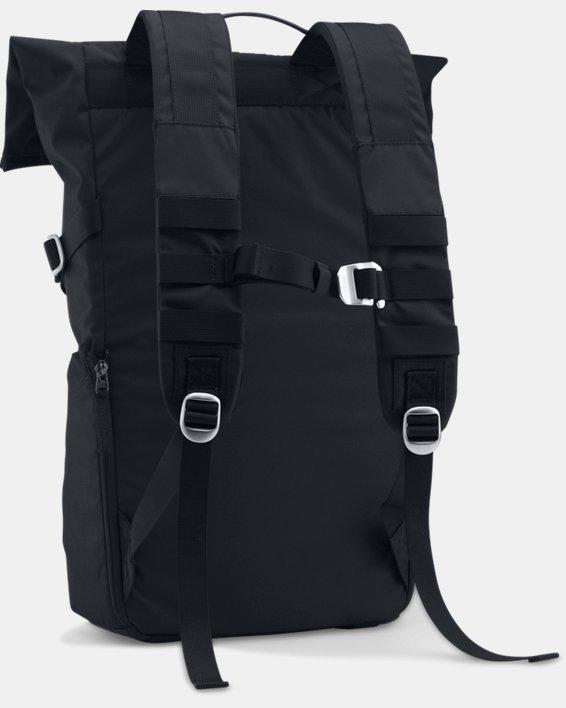 SC30 Signature Rolltop Backpack, Black, pdpMainDesktop image number 1