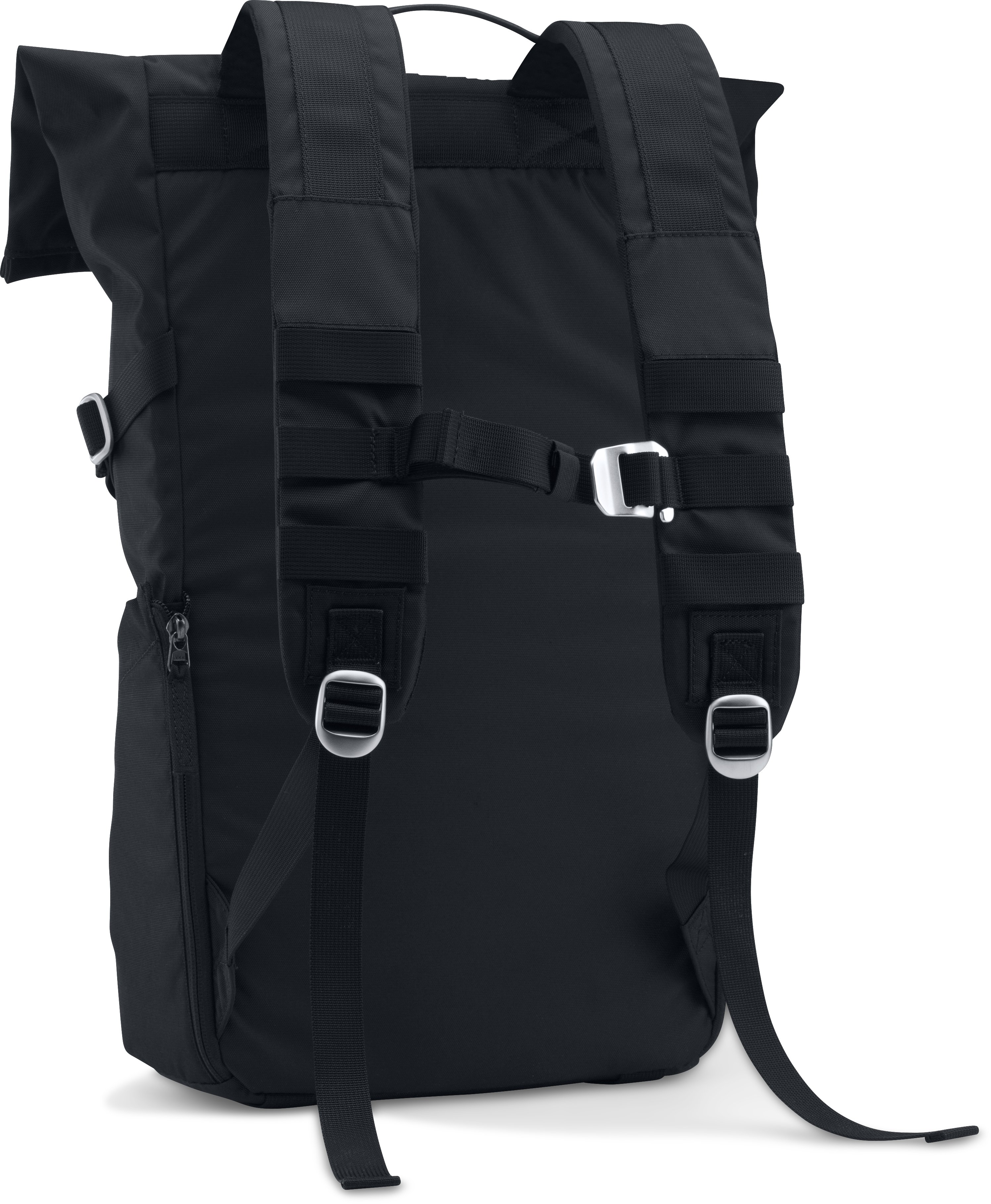 SC30 Signature Rolltop Backpack, Black , undefined