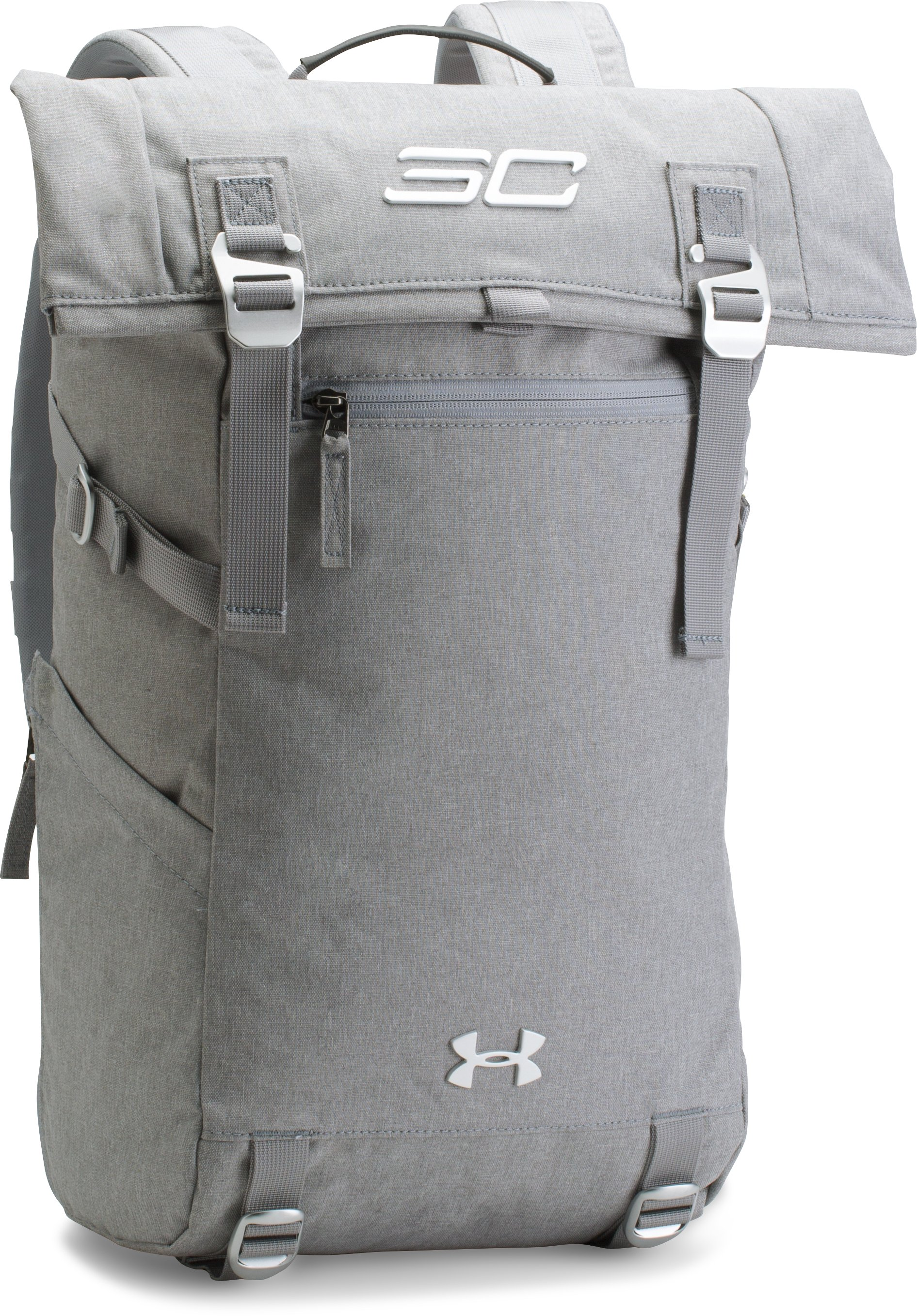 SC30 Signature Rolltop Backpack, GRAY AREA MEDIUM HEATHER