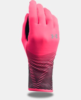 New Arrival Girls' ColdGear® Reactor Fleece Gloves  1 Color $19.99