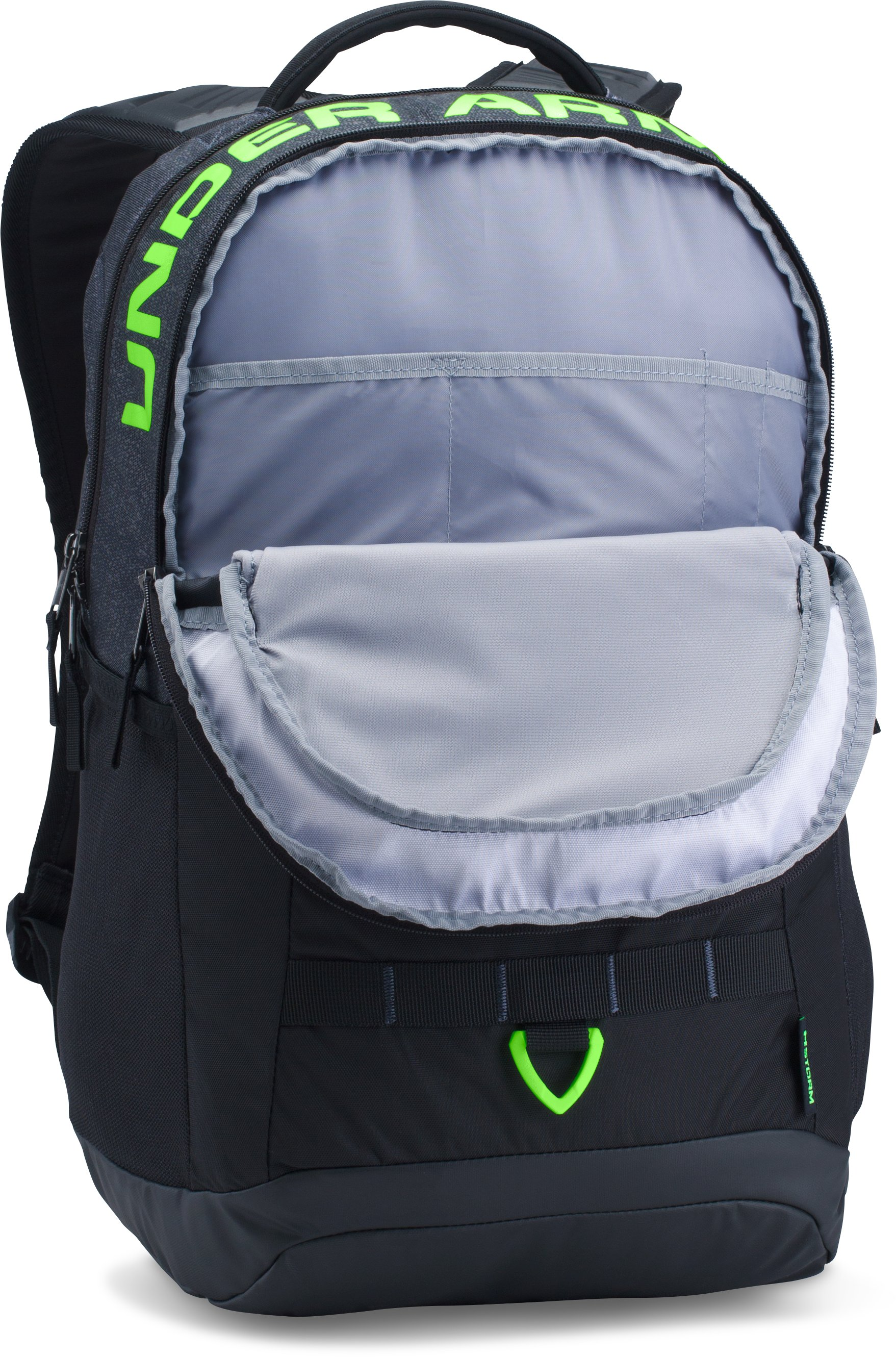 UA Big Logo 5.0 Backpack, STEALTH GRAY, undefined