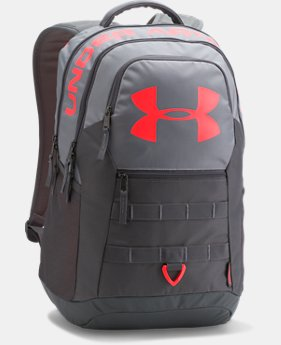 UA Big Logo 5.0 Backpack  4  Colors Available $37.5 to $56.24