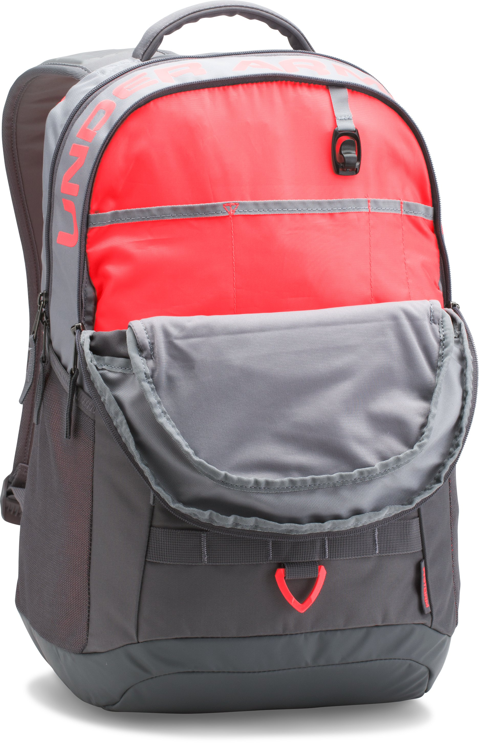 UA Big Logo 5.0 Backpack, Steel, undefined