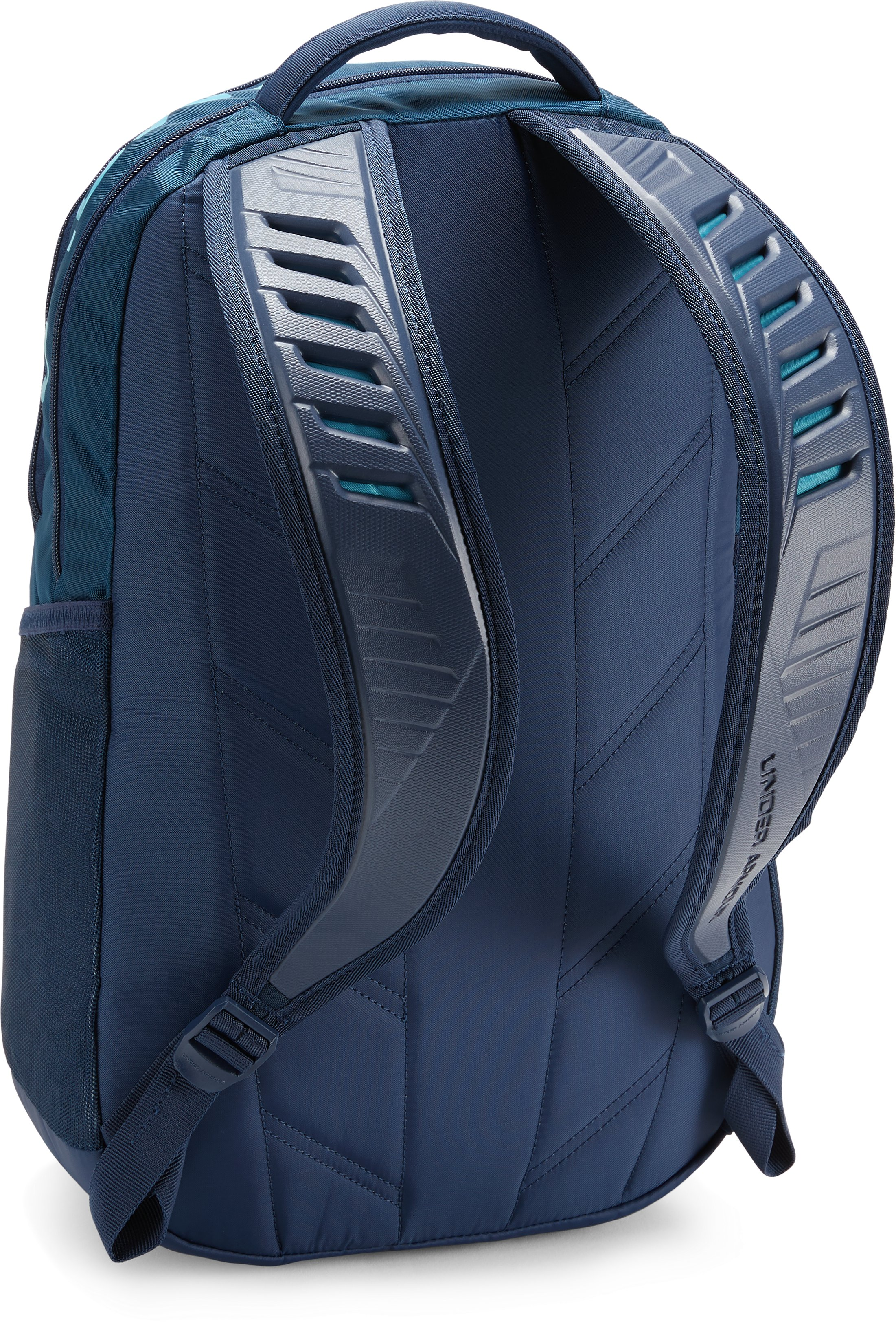 UA Big Logo 5.0 Backpack, Techno Teal,