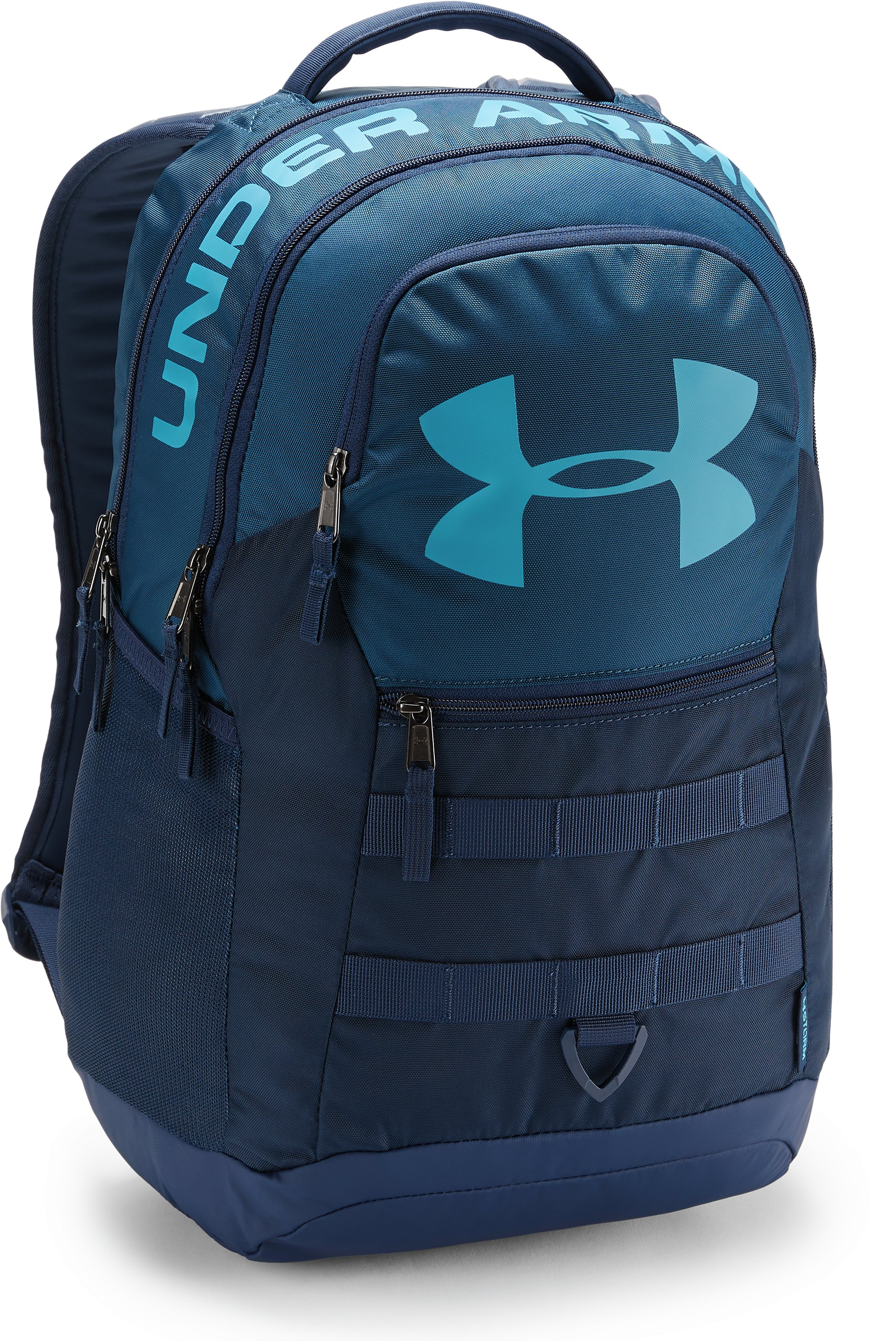 UA Big Logo 5.0 Backpack, Techno Teal