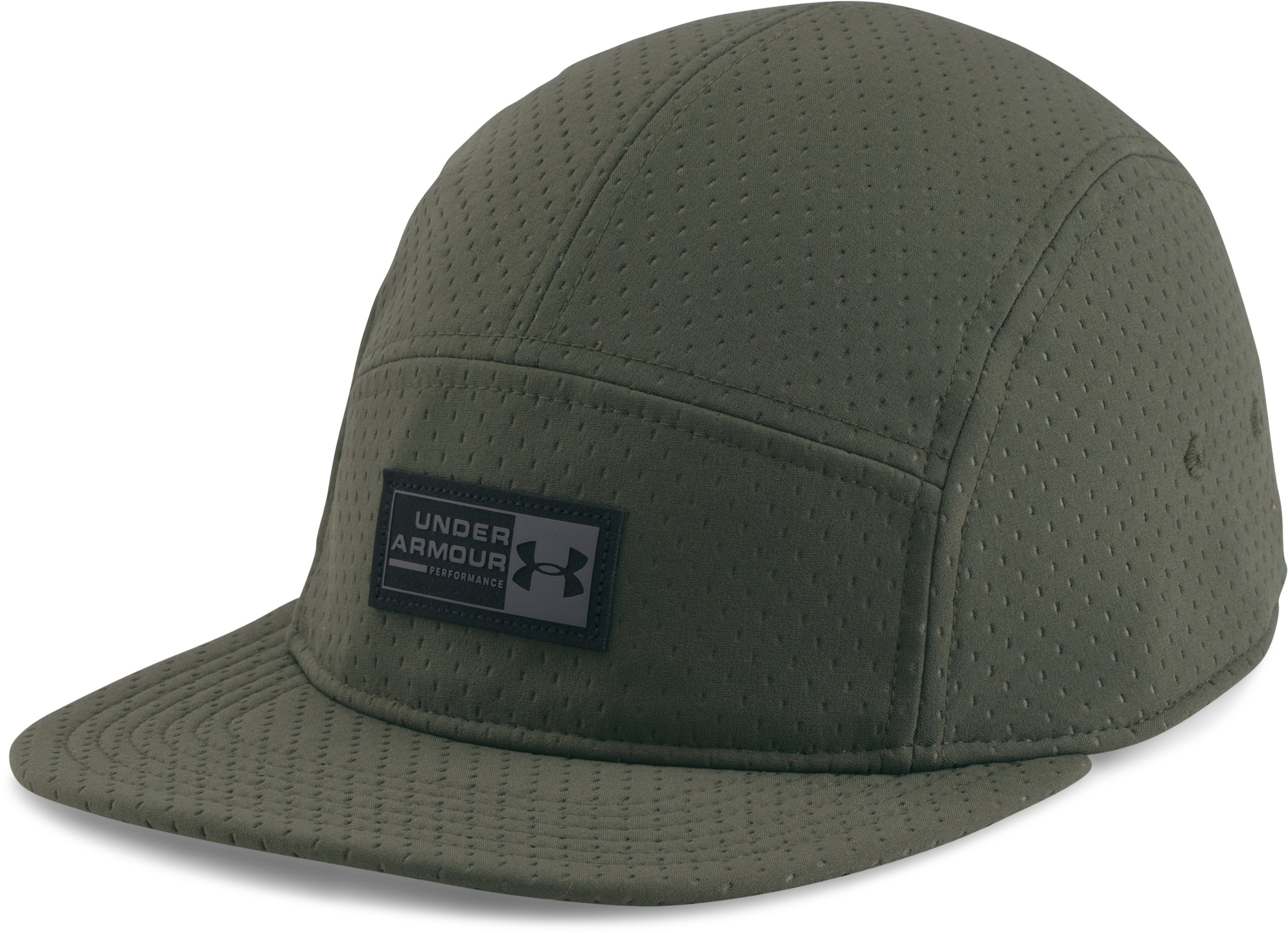 Men's UA Deboss Camper Cap, DOWNTOWN GREEN