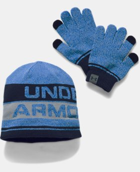 Kids' UA Beanie & Glove Combo Set 2.0  3 Colors $34.99