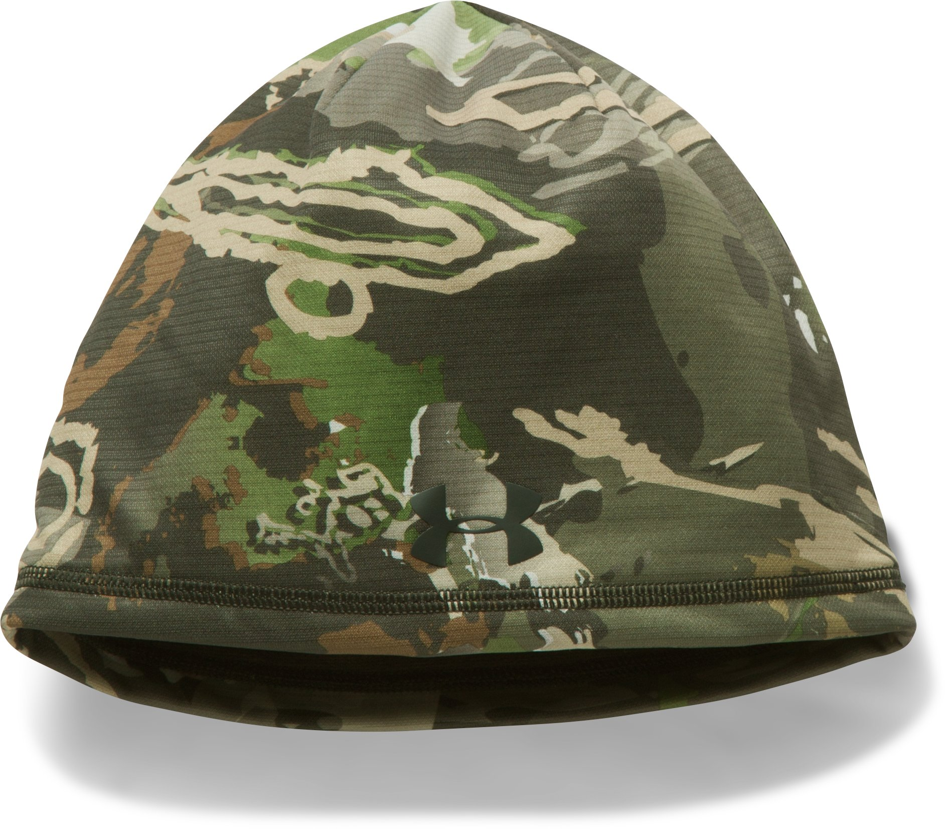 Men's UA Scent Control Storm Fleece Beanie, RIDGE REAPER® FOREST,