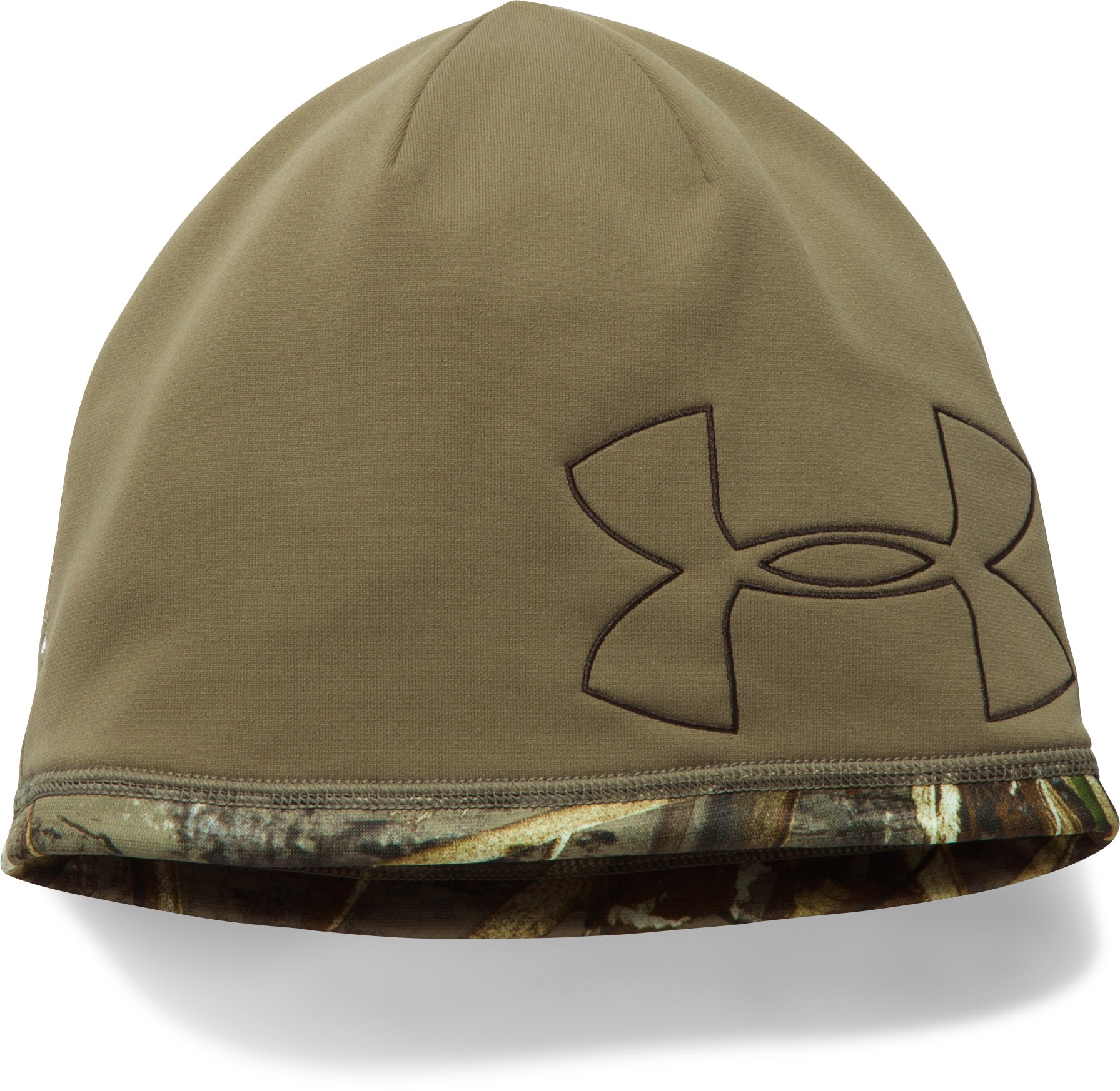 Men's UA Reversible Fleece 2.0 Beanie, REALTREE MAX 5, undefined