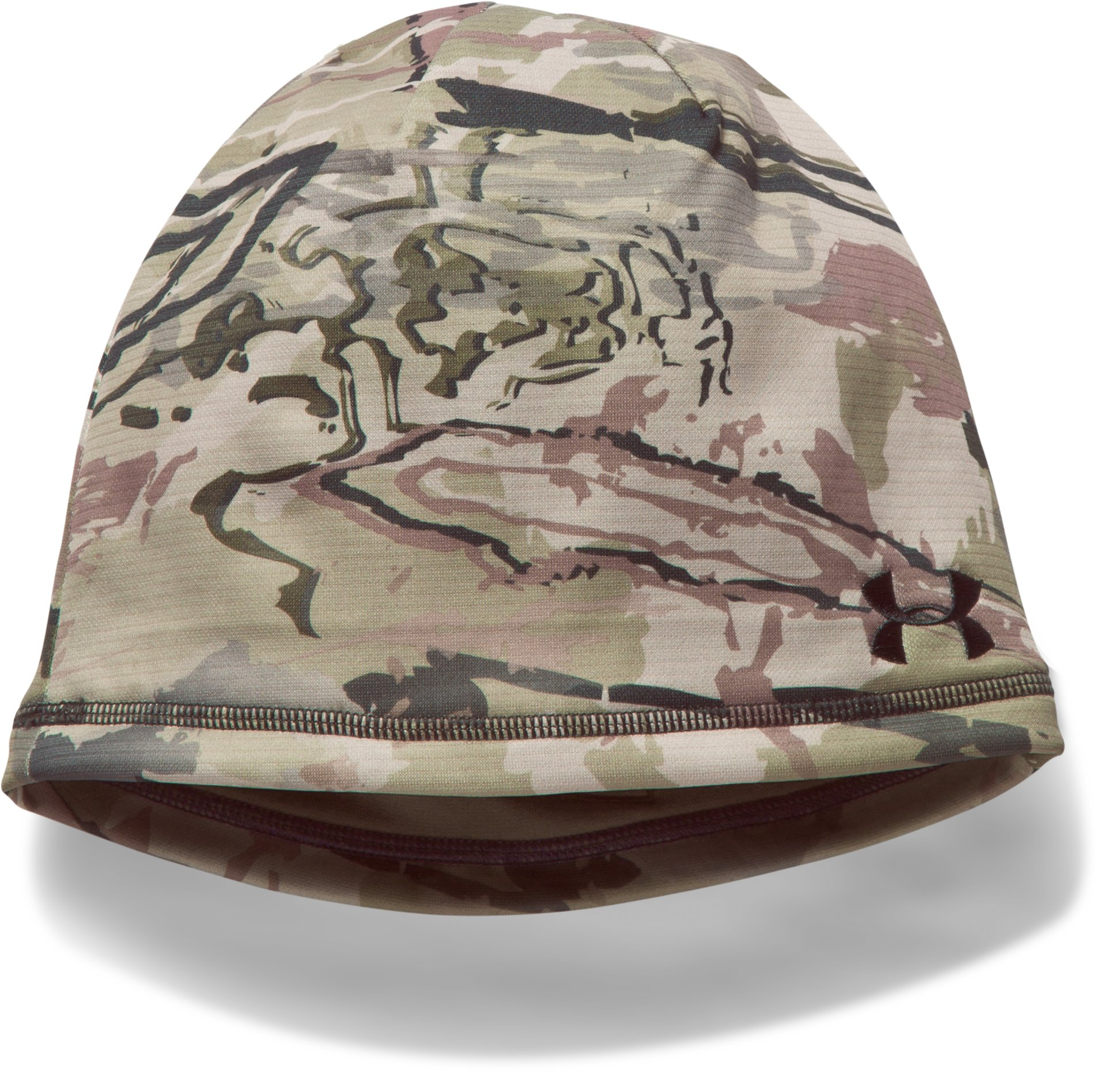 Men's UA Reversible Fleece 2.0 Beanie, RIDGE REAPER® BARREN, undefined