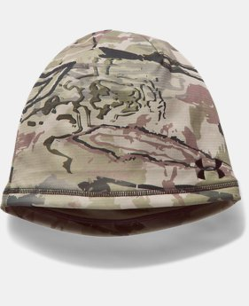 New to Outlet Men's UA Reversible Fleece 2.0 Beanie LIMITED TIME OFFER 4 Colors $26.24