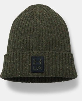 Men's UA Hunt Wool Beanie LIMITED TIME OFFER 1 Color $24.49
