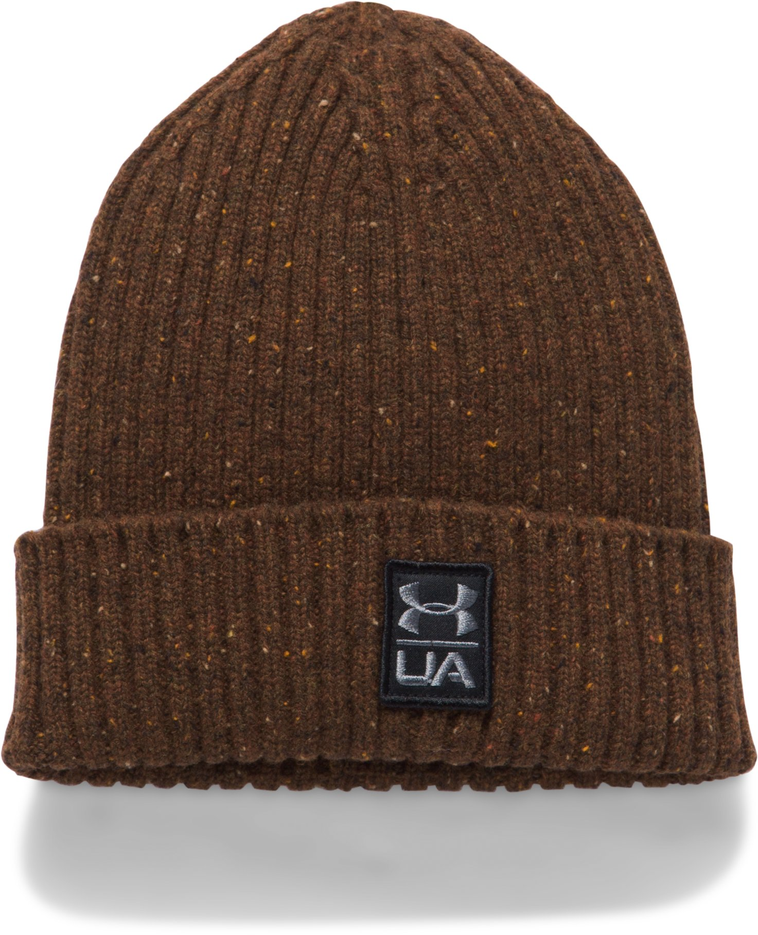 Men's UA Hunt Wool Beanie, CANNON