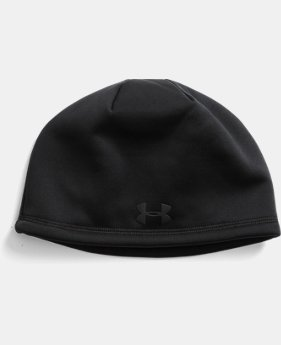 Men's UA Camo Outdoor Fleece Beanie  2  Colors $24.99