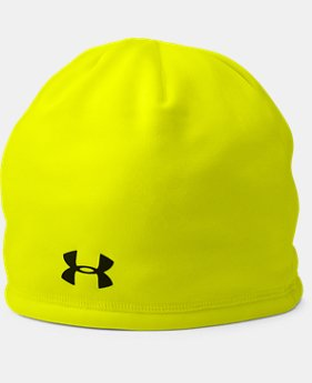 Men's UA Camo Outdoor Fleece Beanie  1 Color $18.74