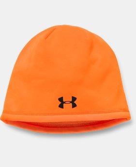 Men's UA Camo Outdoor Fleece Beanie  2  Colors Available $24.99