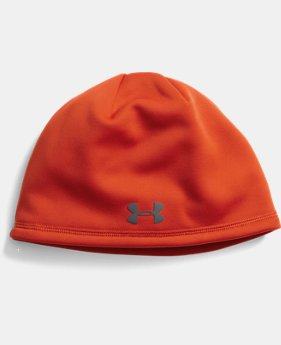 New to Outlet Men's UA Camo Outdoor Fleece Beanie  1 Color $18.99
