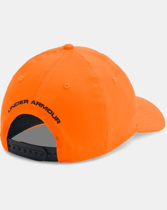 Casquette UA Camo 2.0 pour homme, Orange, pdpMainDesktop image number 1