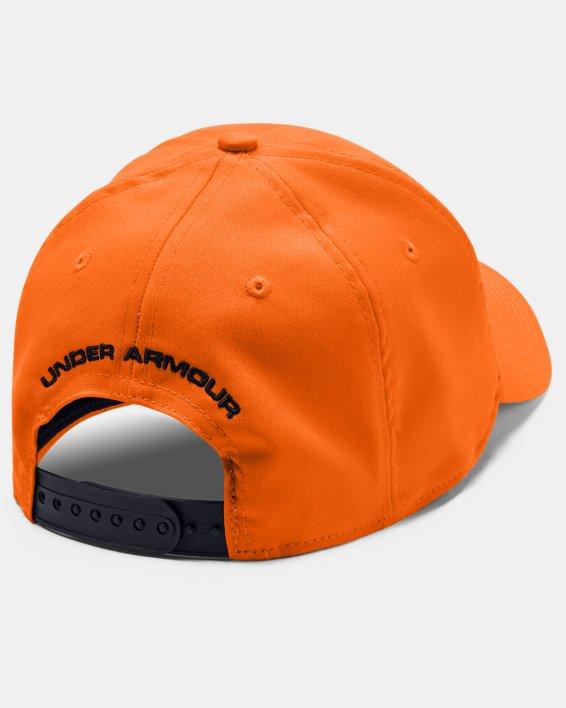 Casquette UA Camo 2.0 pour homme, Orange, pdpMainDesktop image number 3