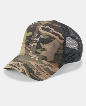 Men's UA Camo Mesh 2.0 Cap  3  Colors Available $29.99
