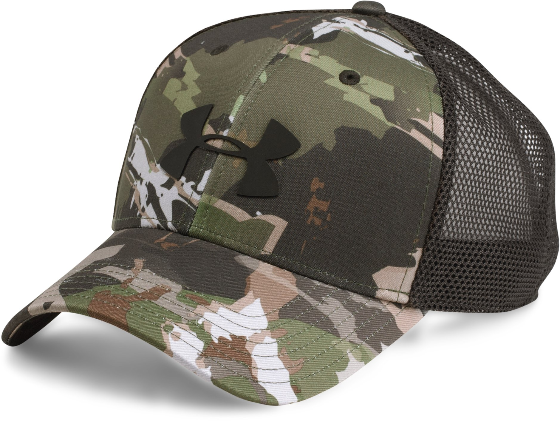 Men's UA Camo Mesh 2.0 Cap, RIDGE REAPER® FOREST
